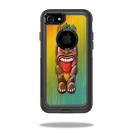 Skin For OtterBox Commuter iPhone 7 Case – Tiki Man | MightySkins Protective, Durable, and Unique Vinyl Decal wrap cover | Easy To Apply, Remove, and Change Styles | Made in the USA - Tiki Man