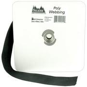 """Polypro Webbing 1-1/2""""X25yd-Black"""