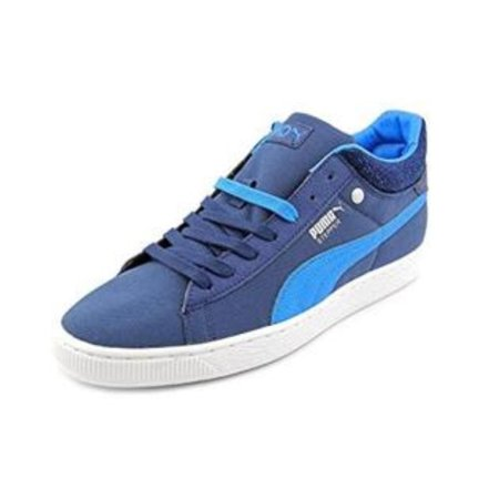 Puma Stepper Classic Hyper 90's Sneaker Mens Blue Sneakers (Puma Shoes Sneakers Men)