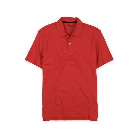 Izod Classic Polo Shirt - IZOD Mens Basix Sun Control Upf 15 Rugby Polo Shirt