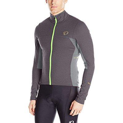 pearl izumi - ride pro escape thermal jersey, smoked pearl, xx-large