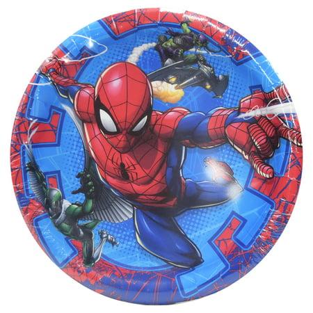 Astonishing Spiderman Paper Dessert Plates 7In 8Ct Evergreenethics Interior Chair Design Evergreenethicsorg