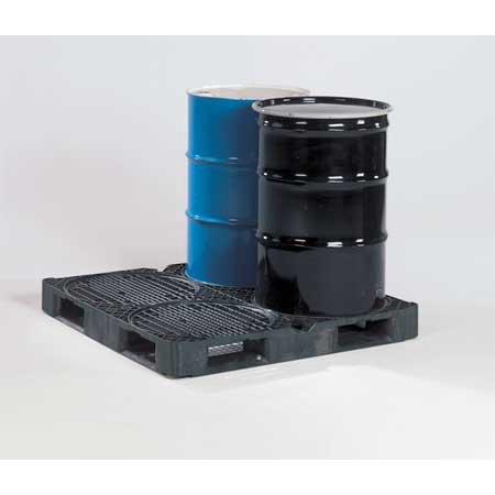 ORBIS 0405050 Pallet, Stackable, Full 4-Way, 4, 000 lb.