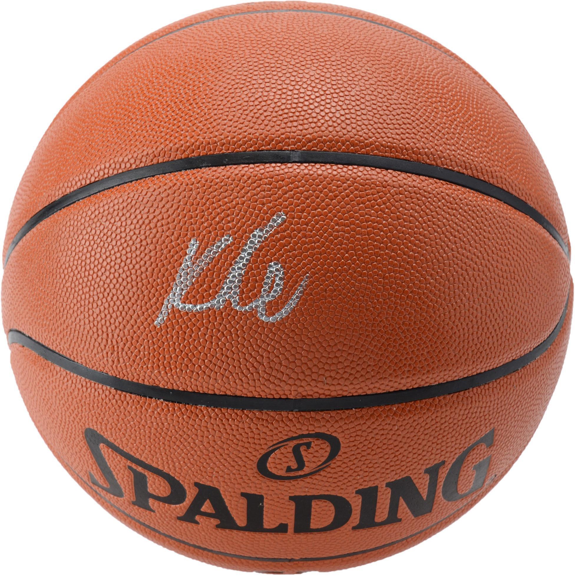 Kyle Kuzma Los Angeles Lakers Autographed Indoor/Outdoor Basketball - Fanatics Authentic Certified