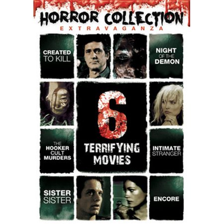 Horror Collection Extrvaganza: 6 Terrifying Movies (DVD) - Halloween Horror Movies On Netflix