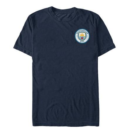 Manchester City Football Club Team Logo Badge Mens Graphic T Shirt