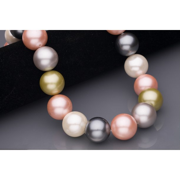 Power Mix A++ Grade Shell Pearls Round Size:20x20mm - Walmart.com