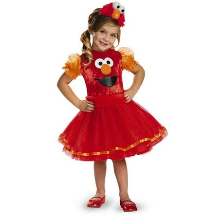 Sesame Street Elmo Tutu Deluxe Toddler Halloween Costume for $<!---->