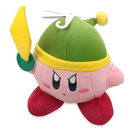 Kirby Plush Doll (Little Buddy LLC, Kirby Link / Sword 6