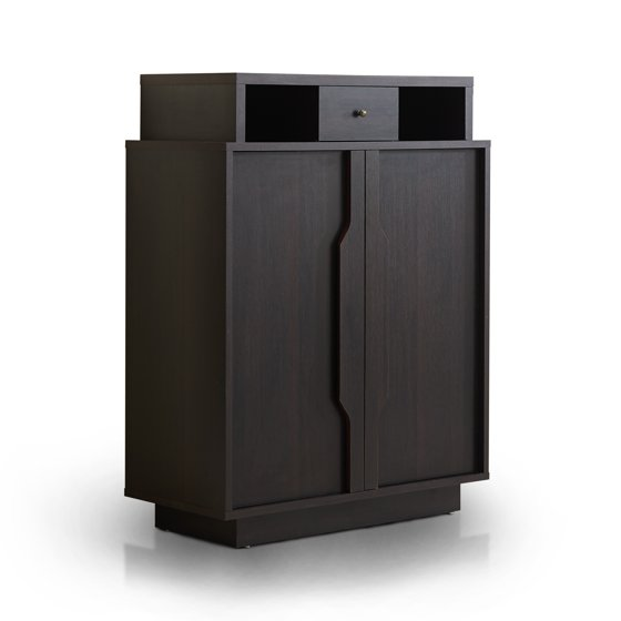 Furniture Of America Arthurie Contemporary Espresso 5 Shelf Shoe Cabinet By Foa