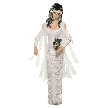 Haunted Mansion Costumes (Womens Haunted Bride Halloween)