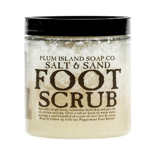 Plum Island Soap Foot Scrub - All Natural Foot Scrub