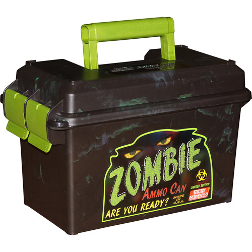 MTM Zombie Ammo Can, 50-Caliber