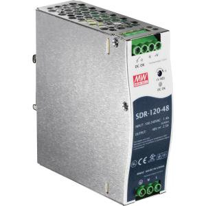 TRENDnet 120 W Single Output Industrial DIN-Rail Power Supply - 48 V DC Output Voltage - DIN Rail - 91% Efficiency DIN-RAIL POWER (Digi Din Rail)