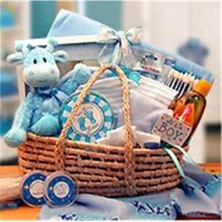 Gift Basket Drop Shipping 890193B Our Precious Baby Carrier Blue