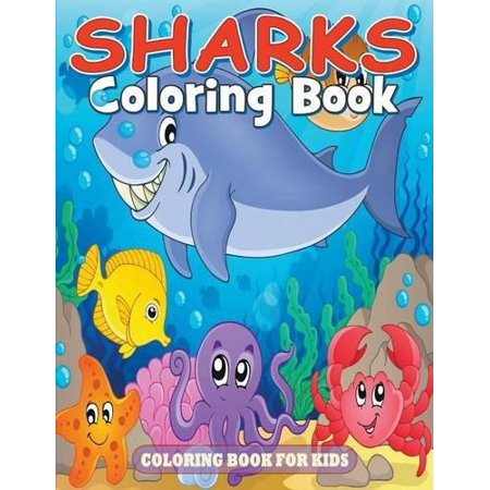 Sharks Coloring Book For Kids