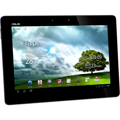 ASUS Transformer Prime TF201-B1-GR Eee Pad 10.1-Inch 32GB Tablet (Amethyst Gray)