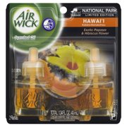 Air Wick Scented Oil Twin Refill Hawaii Exotic Papaya & Hibiscus Flower (2X.67) Oz.