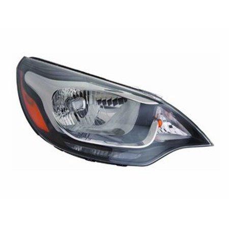 Go-Parts » 2012 - 2016 Kia Rio Headlight - Right (Passenger) 92102 1W100 KI2503159 Replacement For Kia Rio ()