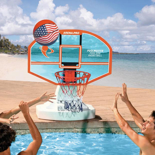 Poolmaster Arena-Pro Acrylic Competition Pool Basketball Game