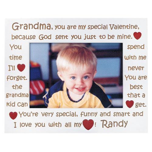 Personalized Grandma Valentine Frame