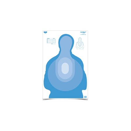 "Birchwood Casey 37024 Eze-Scorer Blue Paper Target 23""x35"" Pack of 100 by"