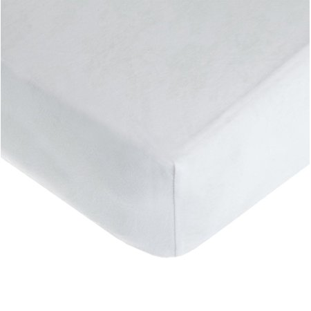 American Baby Company 100% Cotton Value Jersey Knit Fitted Portable/Mini-Crib Sheet, White