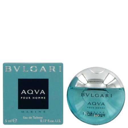 - Bvlgari Aqva Marine by Bvlgari for Men - 0.17 oz EDT Splash (Mini)