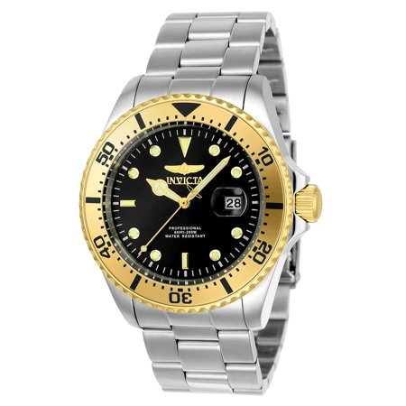 Invicta 23403 Mens Pro Diver Watch Silver 43mm Stainless Steel