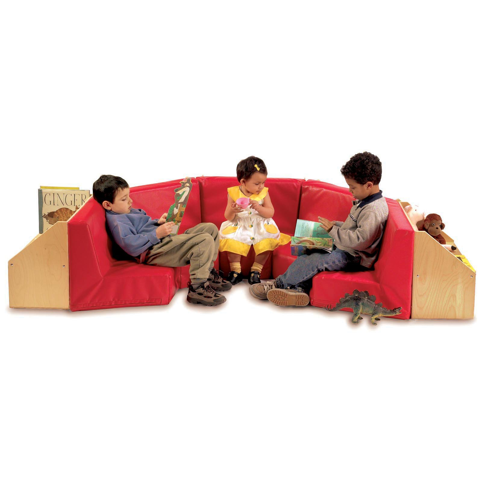 Whitney Bros 5 Section Reading Nook
