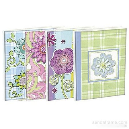 Floral Four - (4 pack) FLORAL BRAGBOOKS by Malden hold 24 photos  sold in 4 s