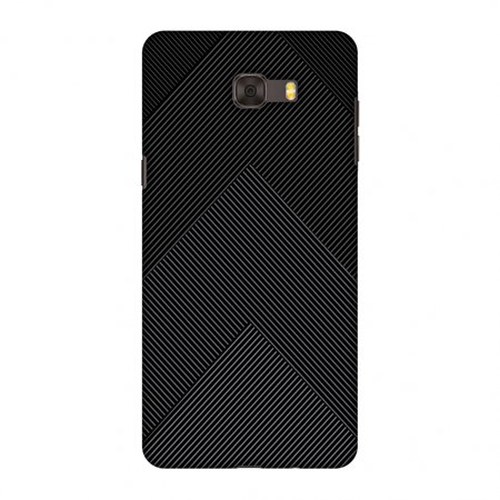 - Samsung Galaxy C9 Pro Case, Premium Handcrafted Designer Hard Shell Snap On Case Printed Back Cover with Screen Cleaning Kit for Samsung Galaxy C9 Pro, Slim, Protective - Carbon Fibre Redux 4