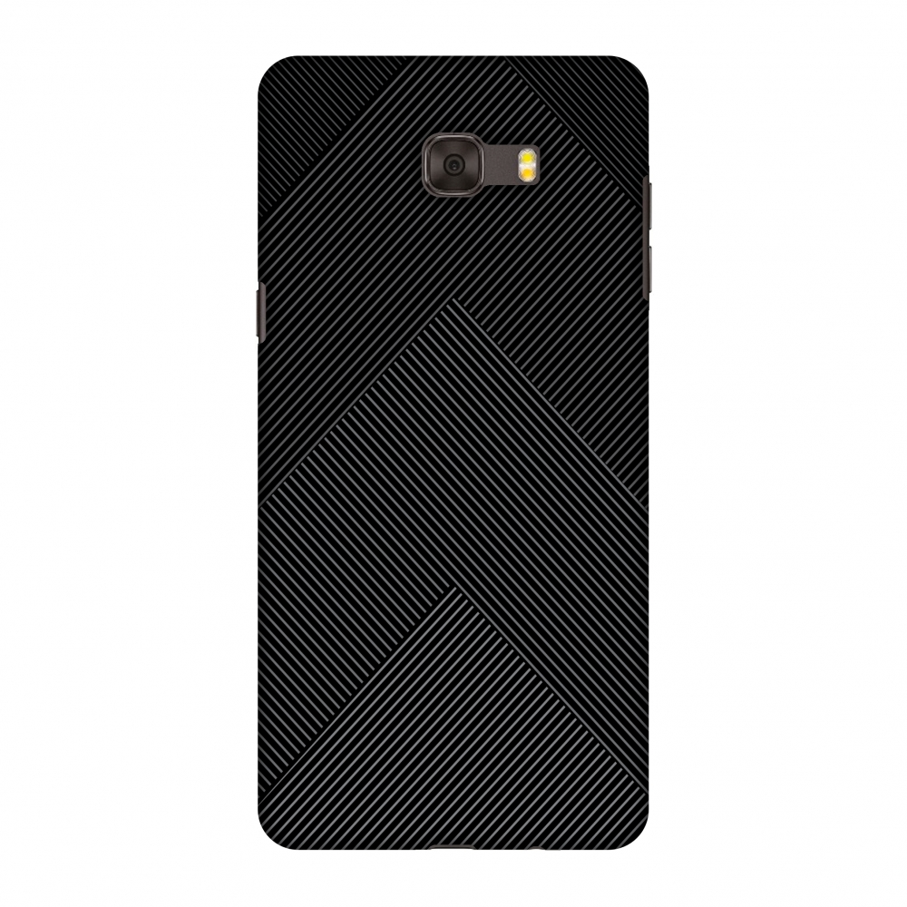 Samsung Galaxy C9 Pro Case, Premium Handcrafted Designer Hard Shell Snap On Case Printed Back Cover with Screen Cleaning Kit for Samsung Galaxy C9 Pro, Slim, Protective - Carbon Fibre Redux 4