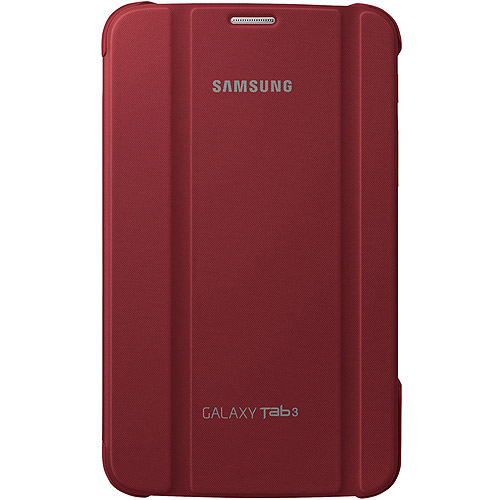 Samsung Galaxy Tab 3 7.0 Book Cover, Red