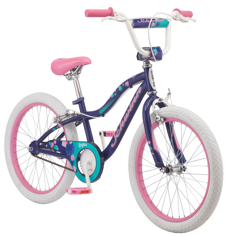 "Schwinn Sequin Girls' Bike, 20"" wheel, Blue by Pacific Cycle"