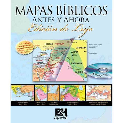 Mapas Biblicos Antes y Ahora / Then and Now Bible Maps