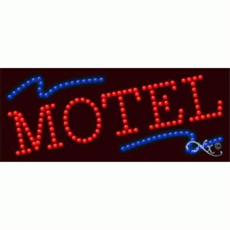 Arter Neon 20839 Mortgage   Motel   44  Red