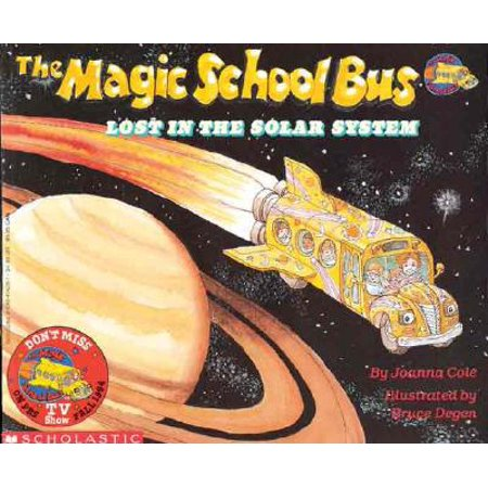Ms Frizzle Magic School Bus - The Magic School Bus Lost in the Solar System (Paperback)
