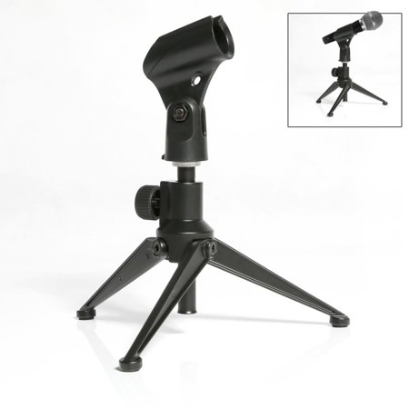 Pyle Adjustable Desktop Tripod Microphone Stand