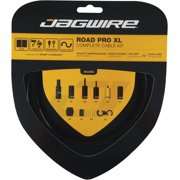Jagwire Road Pro XL Complete Shift and Brake Cable Kit, Black
