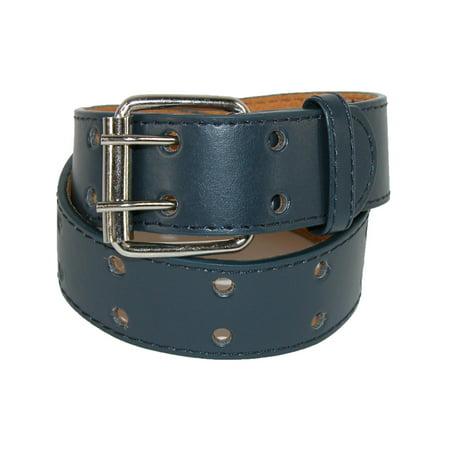 8 Kids Accessories Belts - Kid's Leather Two Hole Jean Belt