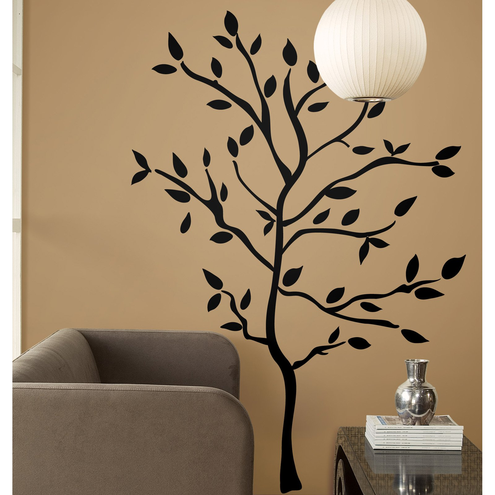 644b90a911a9 Tree Branches Peel and Stick Wall Decals - Walmart.com