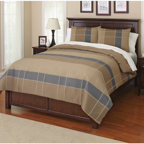 Canopy Grid Bedding Comforter Set