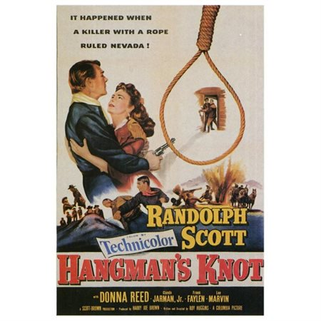Hangman's Knot (Hangman's Knot - movie POSTER (Style A) (11