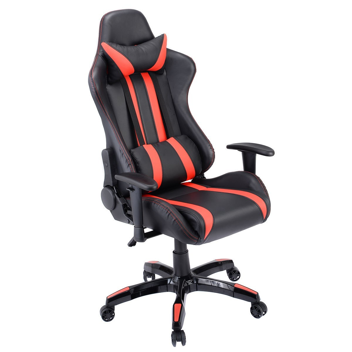 Executive High-Back Racing Style Gaming Chair - Yellow