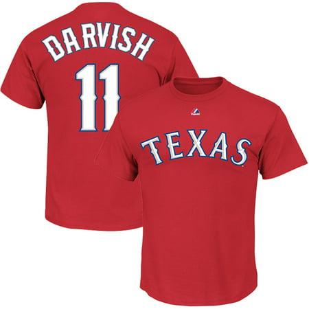 0ebf595608f Majestic - Yu Darvish Texas Rangers Majestic Big   Tall Player T ...