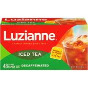 Luzianne, Decaffeinated, Black Iced Tea, Tea Bags, 48 ct.