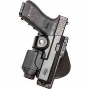 "Fobus Roto Tactical Speed Holster #GLT17 Belt Holster, Right Hand 2 1/4"" Belt, Glock 17 w/Laser"