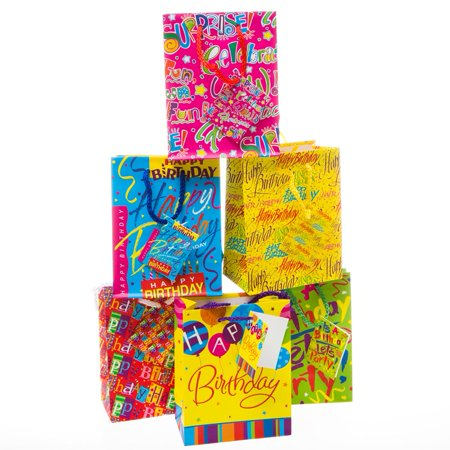 Small Signature Birthday Gift Bags