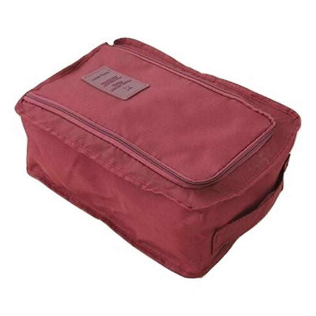 Best Desu 08102015BD Travel Shoe Organizer - Burgundy - image 1 of 1